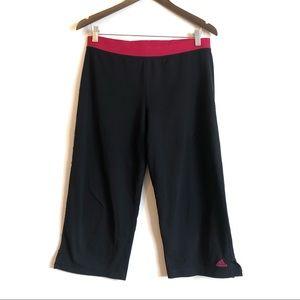 *3/$25* ADIDAS Clima365 Capri Athletic Pants Black